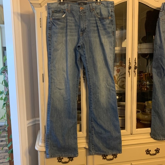 Lucky Brand men's 367 Vintage Bootcut Jeans 36x34